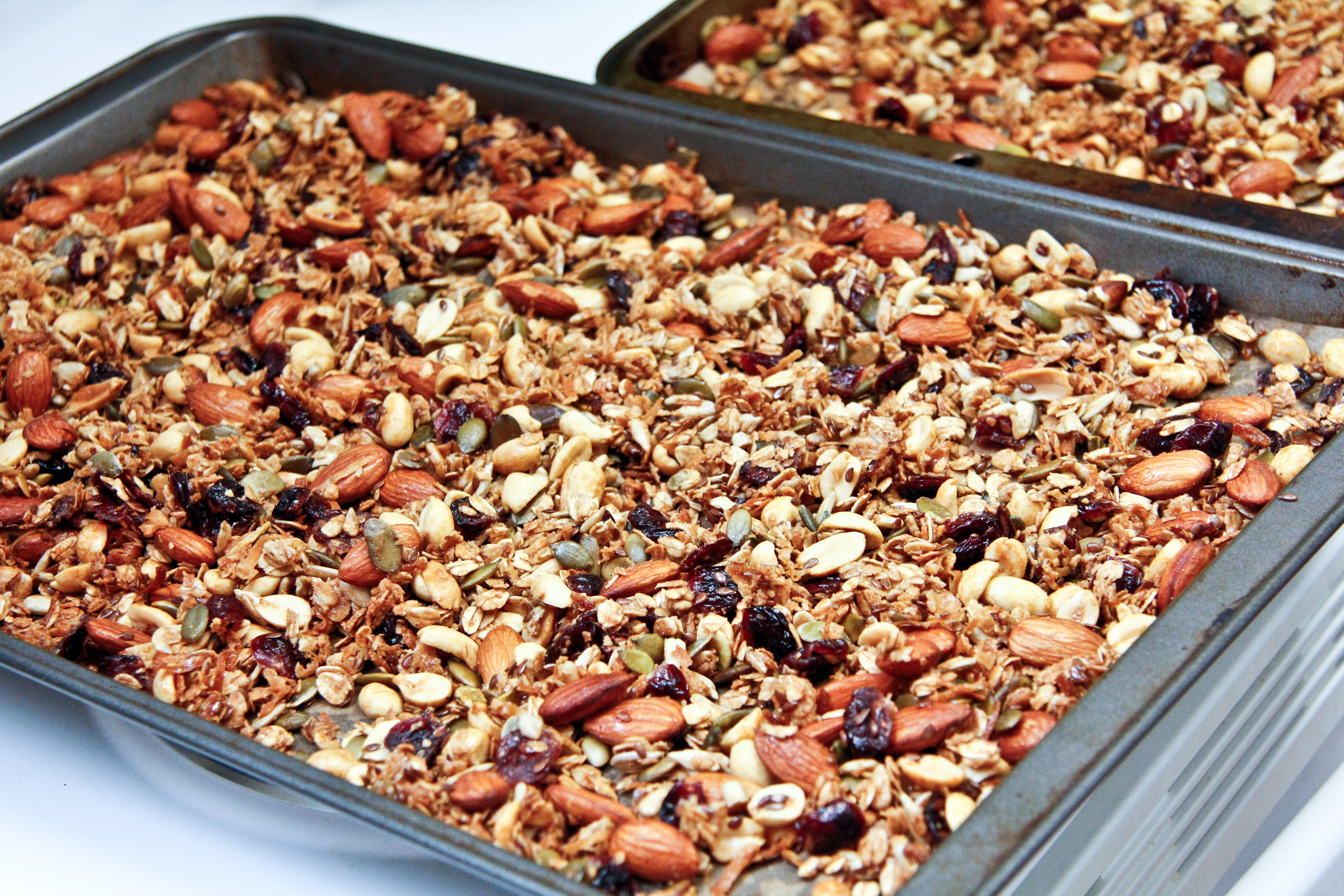 Nutty Cranberry Granola | ChefJulieYoon.com