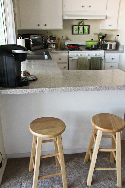 Diy Design Painted Kitchen Stools Chef Julie Yoon
