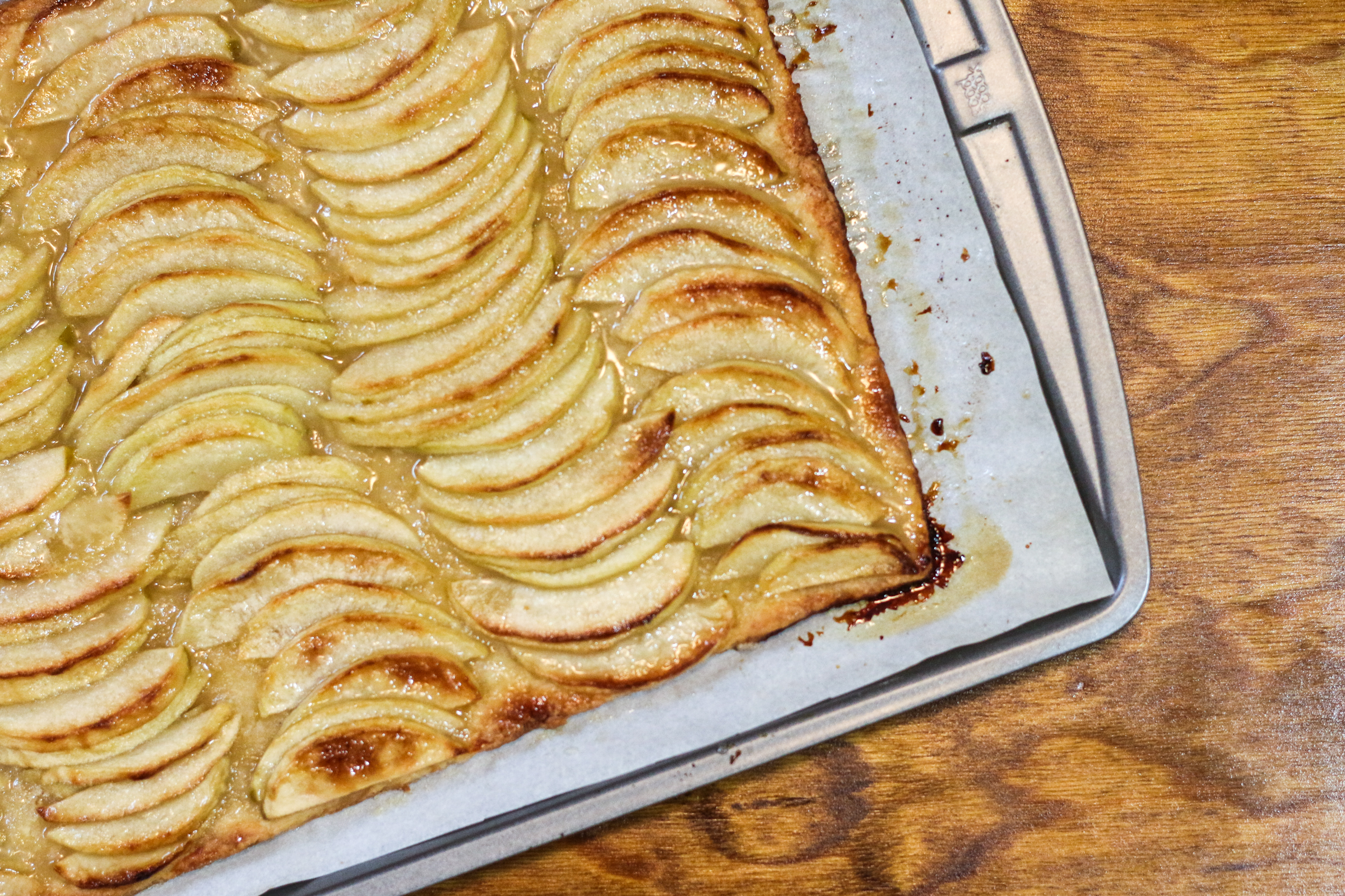 Apple Tart with Apple Glaze | ChefJulieYoon.com