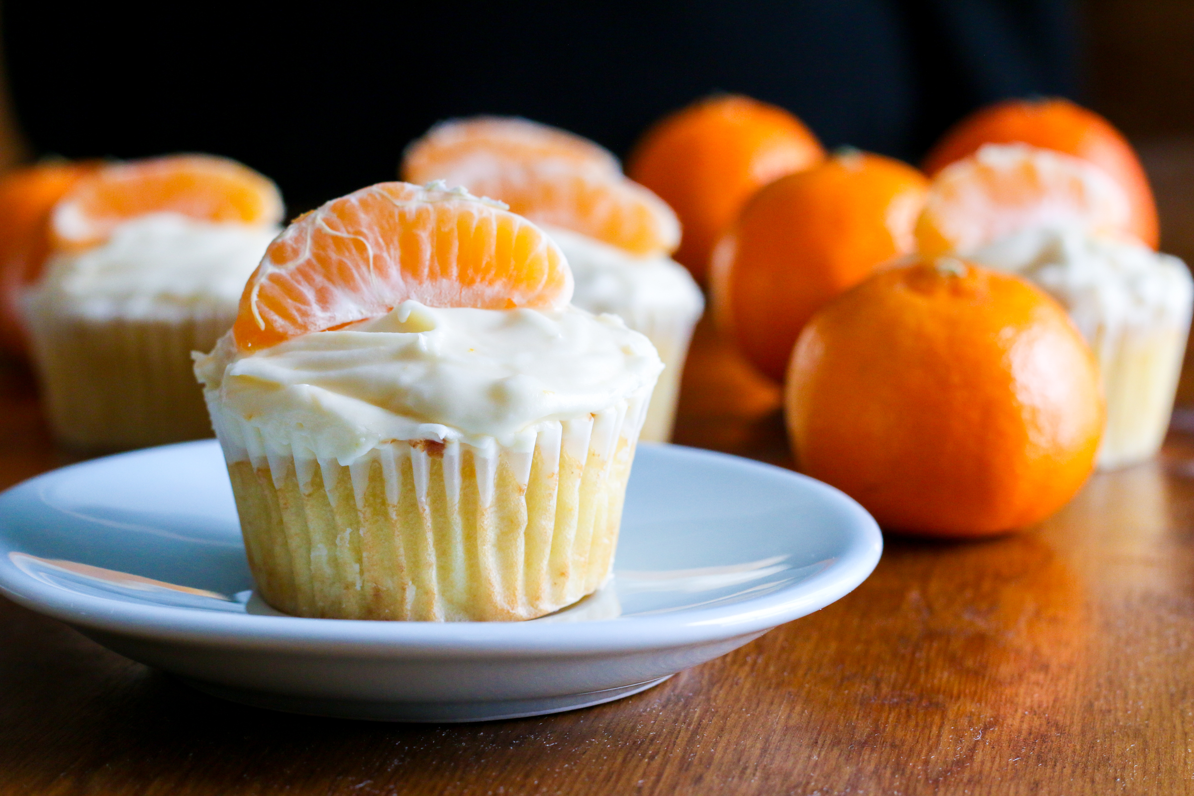 Clementine Cupcakes | ChefJulieYoon.com