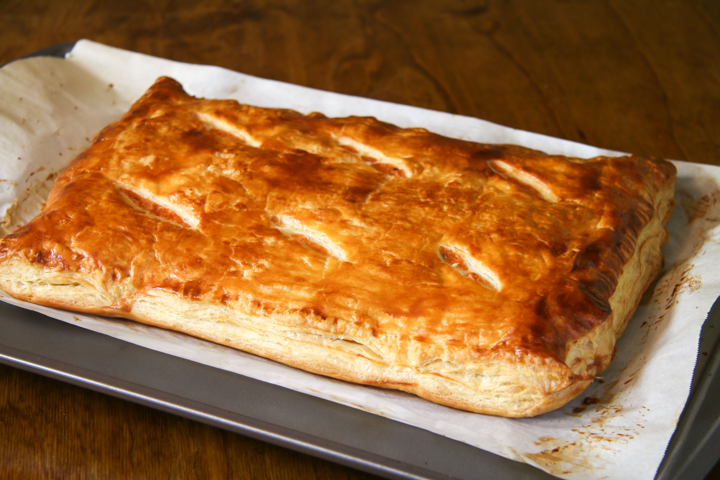 Turkey Cheese Puff Pastry | ChefJulieYoon.com
