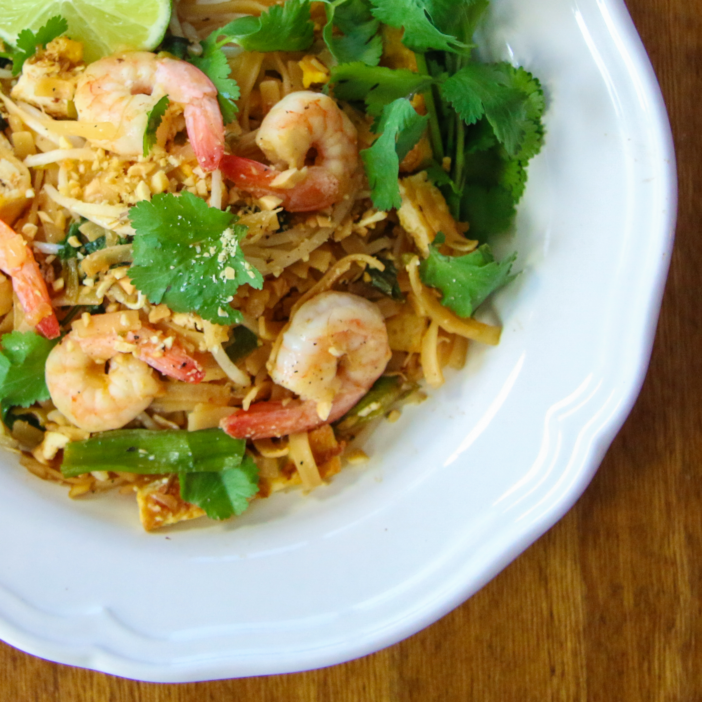 Easy Shrimp Pad Thai | ChefJulieYoon.com