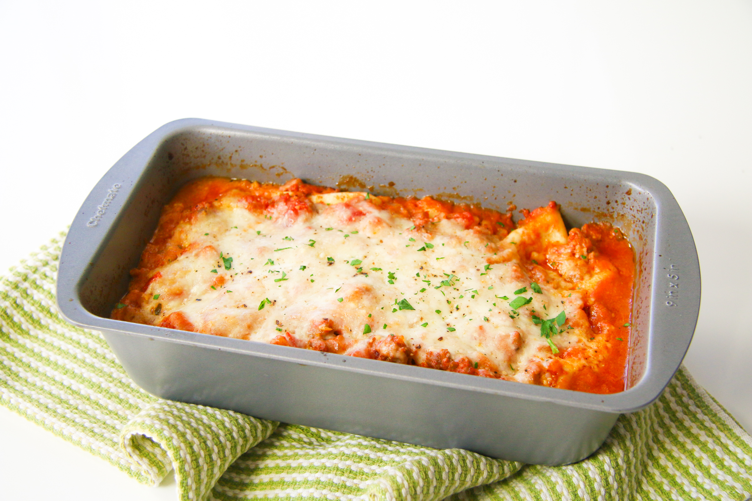 Lasagna for Two | ChefJulieYoon.com