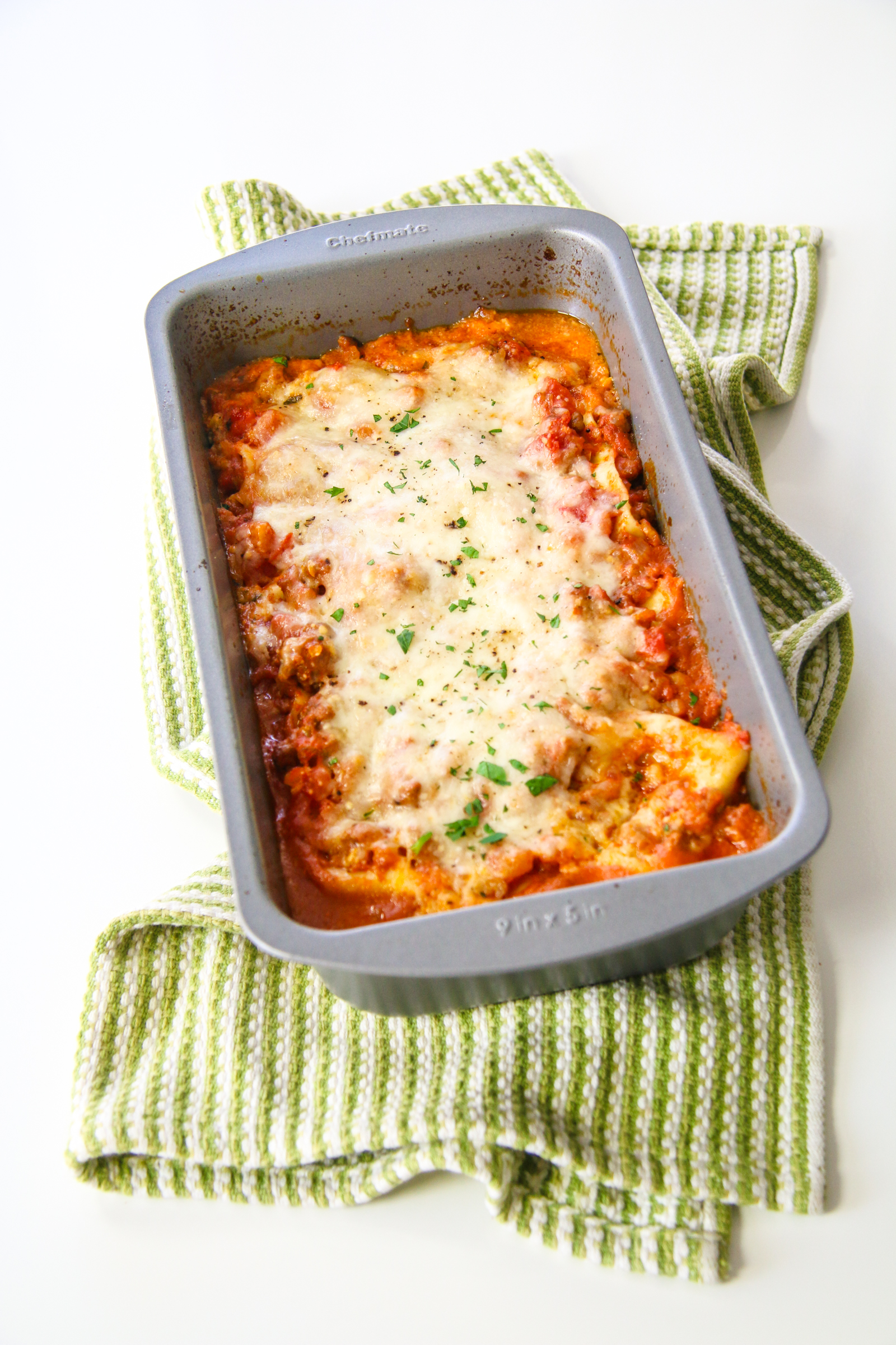 Lasagna For Two Chef Julie Yoon