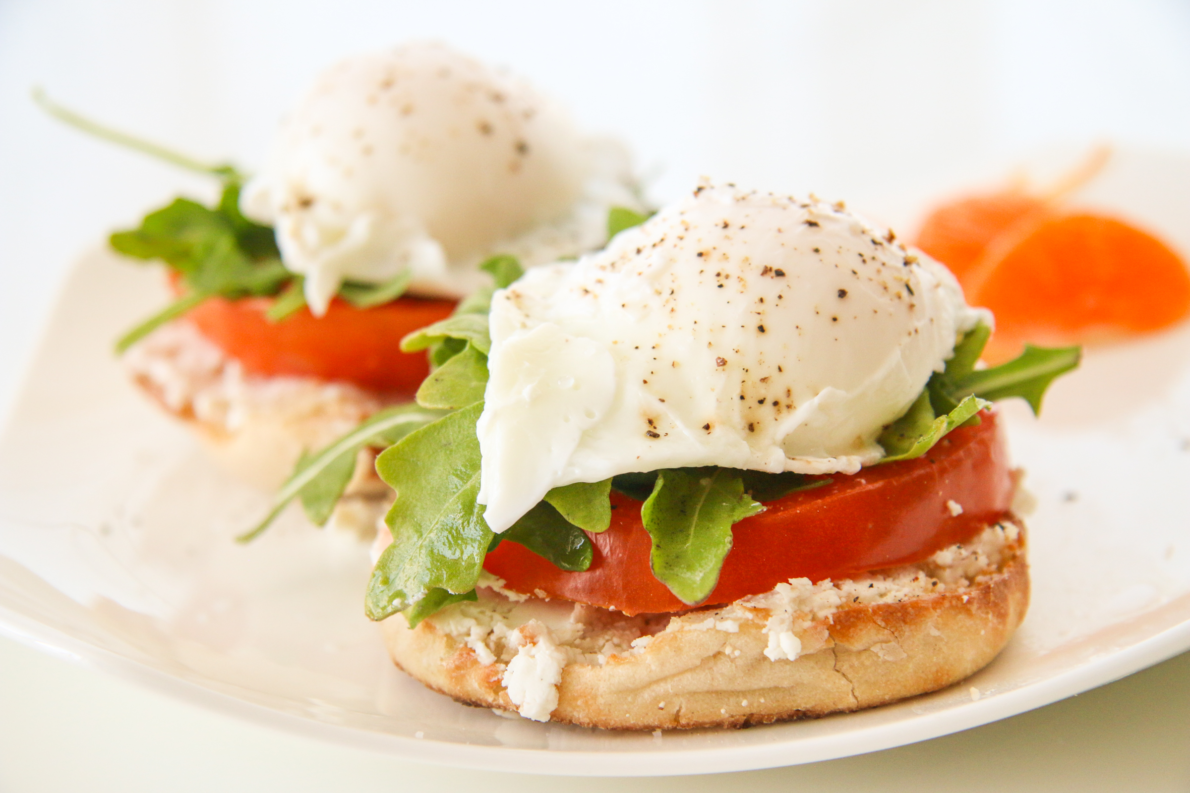 Poached Egg Sandwiches | ChefJulieYoon.com