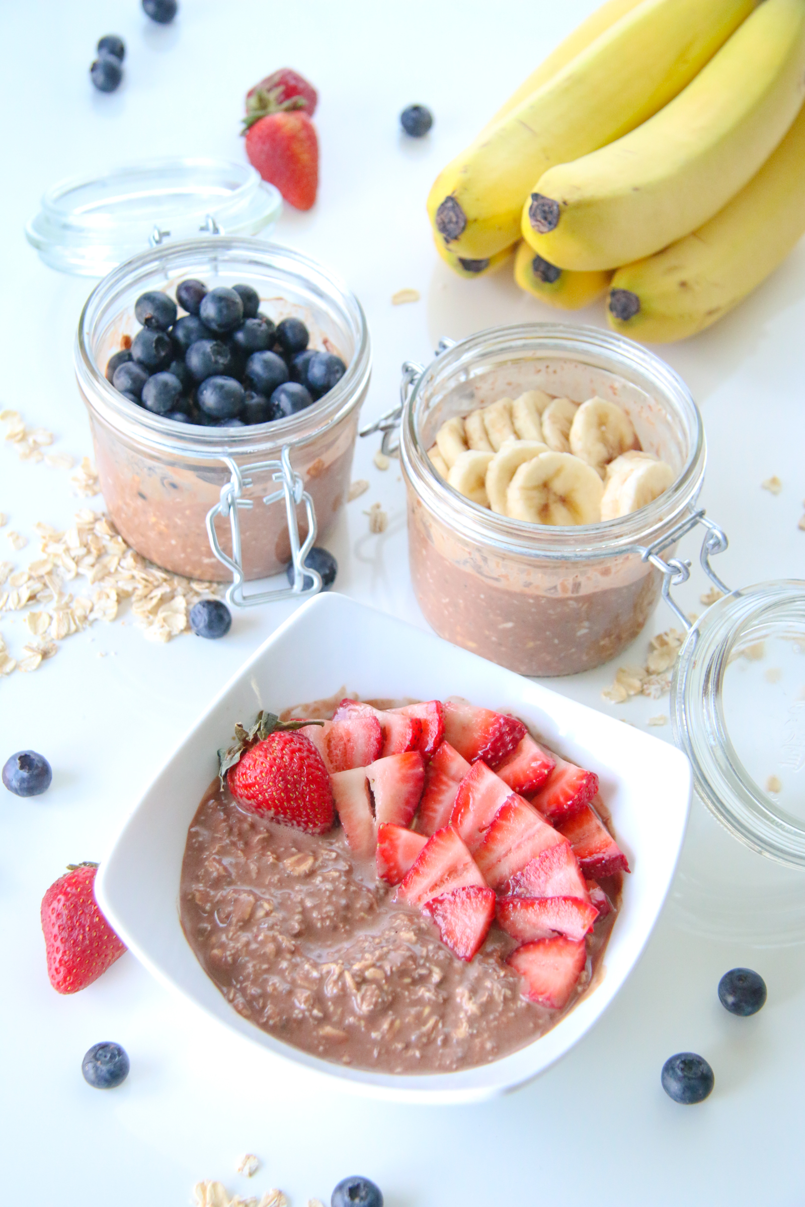 Chocolates Overnight Oats | ChefJulieYoon.com