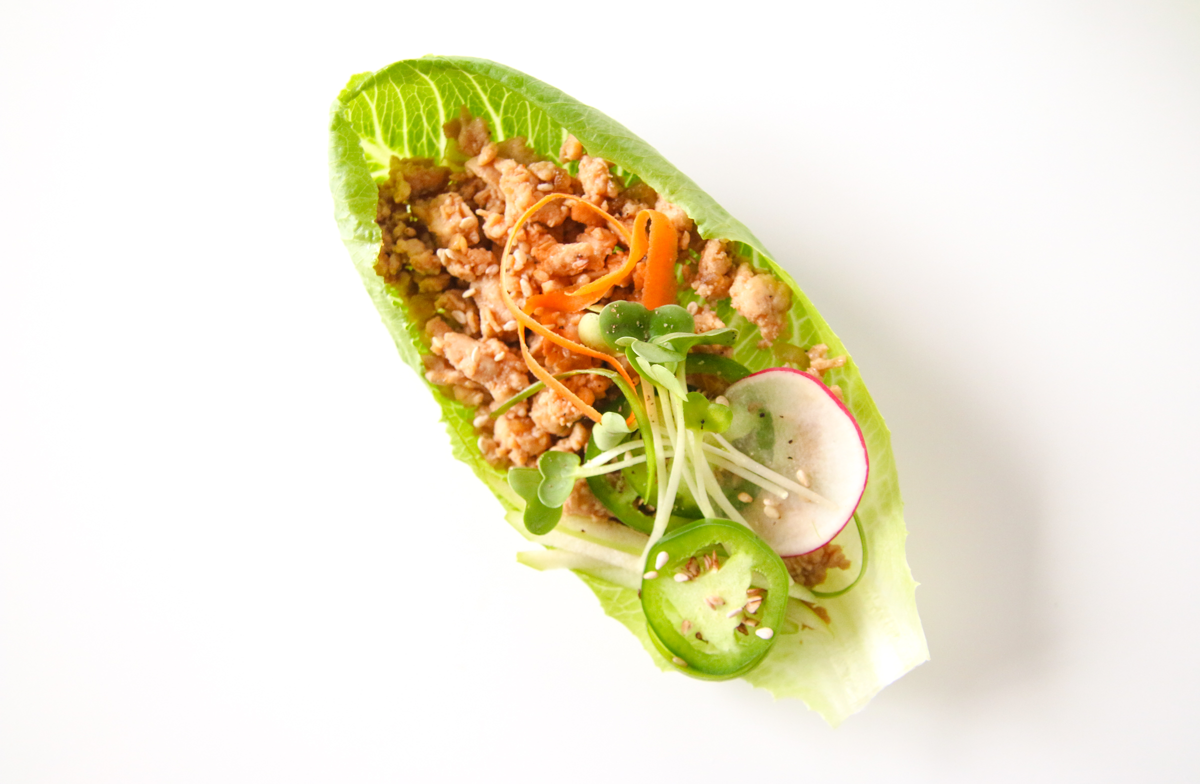 Asian Lettuce Wraps | ChefJulieYoon.com