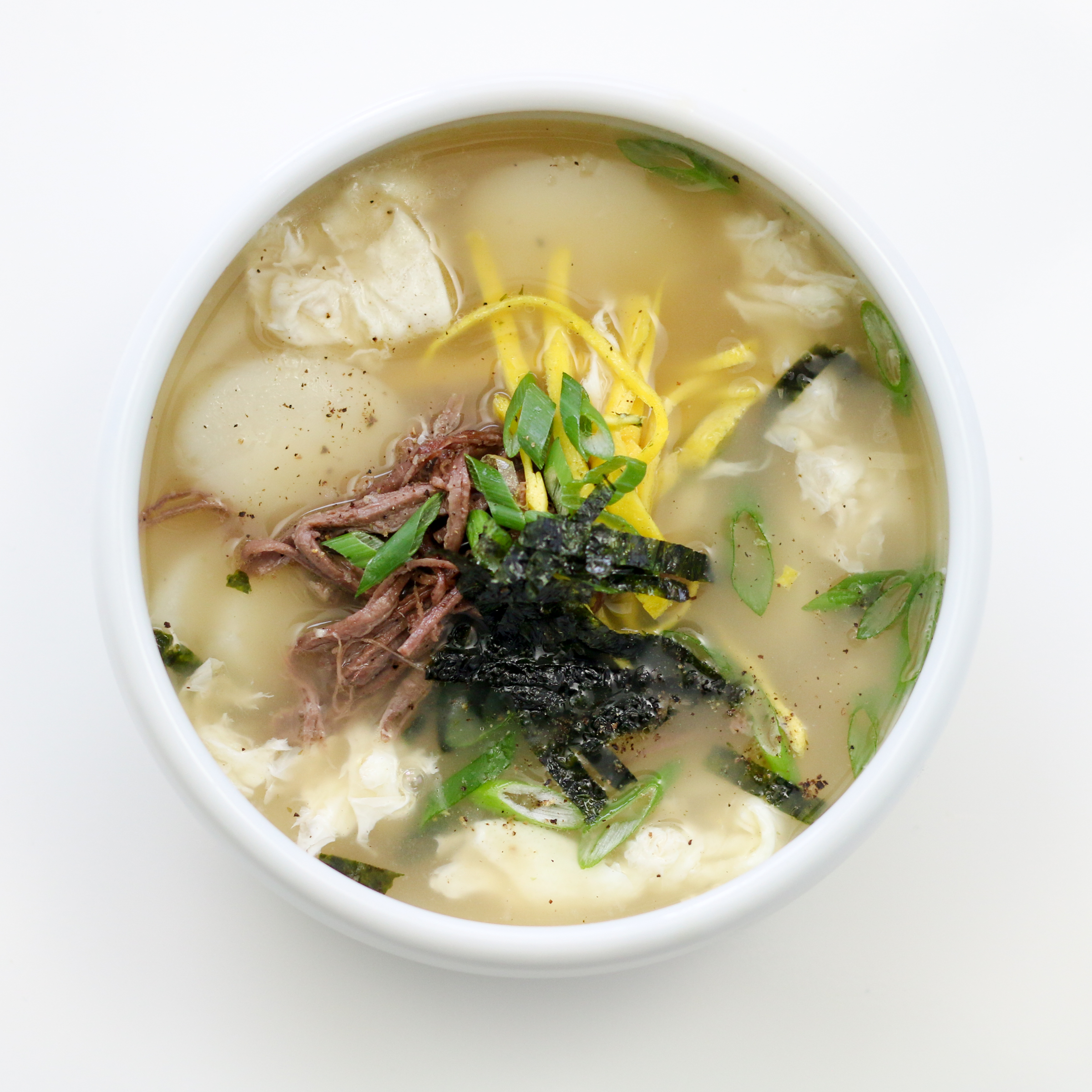 Korean Soup Rice Cake