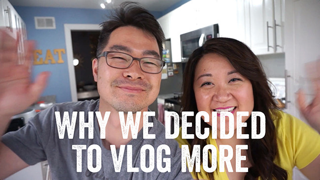 Why We Decided To Vlog More | ChefJulieYoon.com