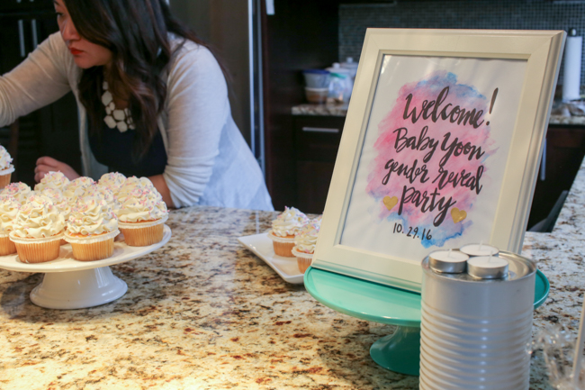 Baby Gender Reveal Party | ChefJulieYoon.com
