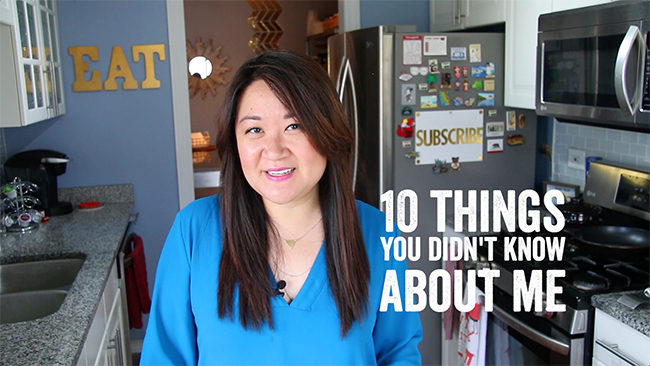 10 things you didn't know about me | ChefJulieYoon.com
