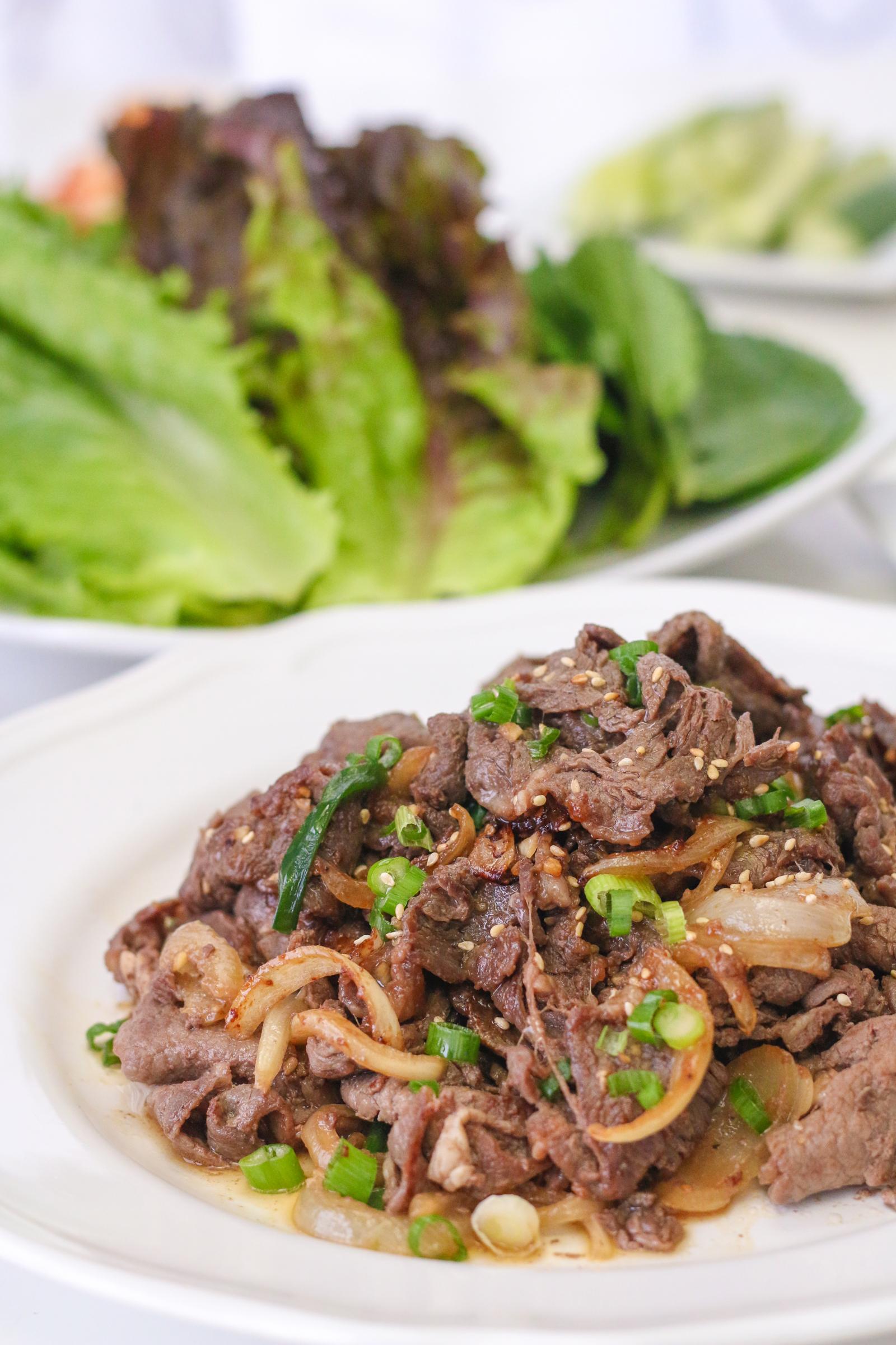 Bulgogi (Marinated Korean Beef BBQ)   Chef Julie Yoon