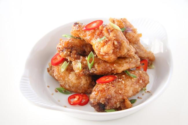 Korean Fried Chicken Dakgangjeong Chef Julie Yoon
